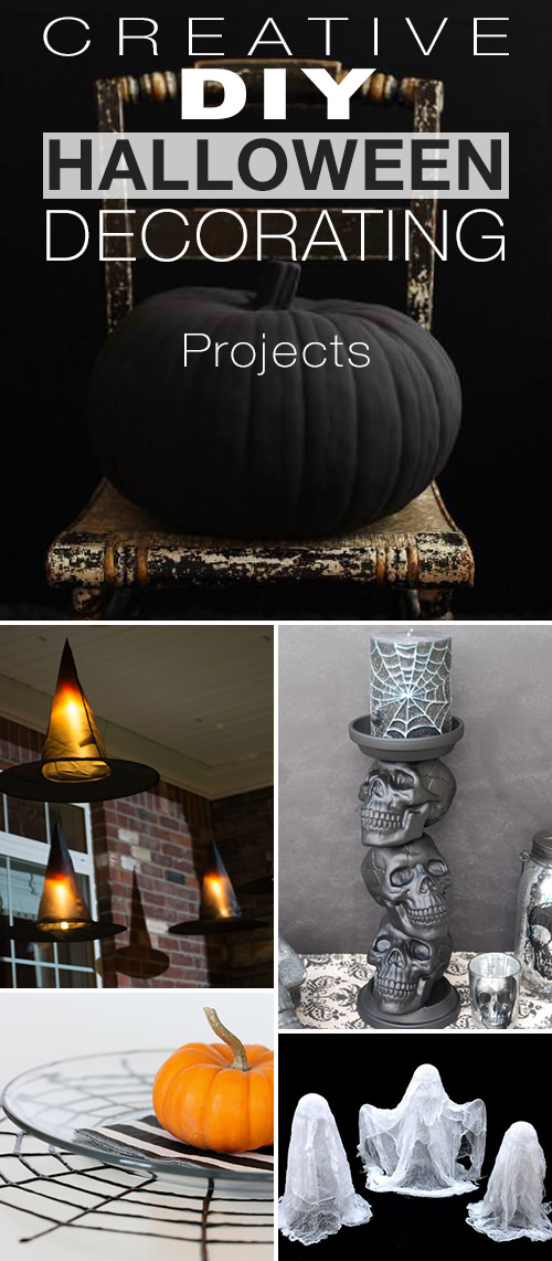 Creative DIY Halloween Decorating