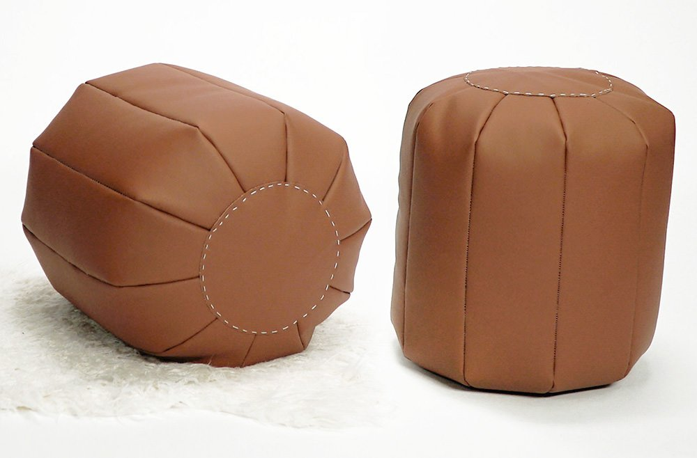 10 Posh DIY Pouf Projects
