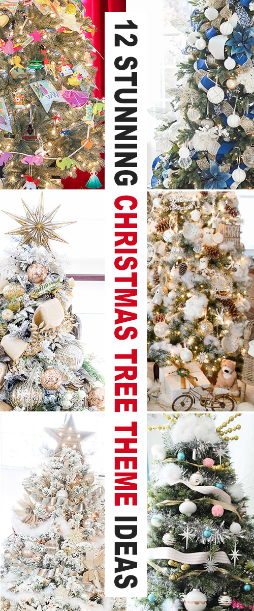 12 Stunning Christmas Tree Theme Ideas