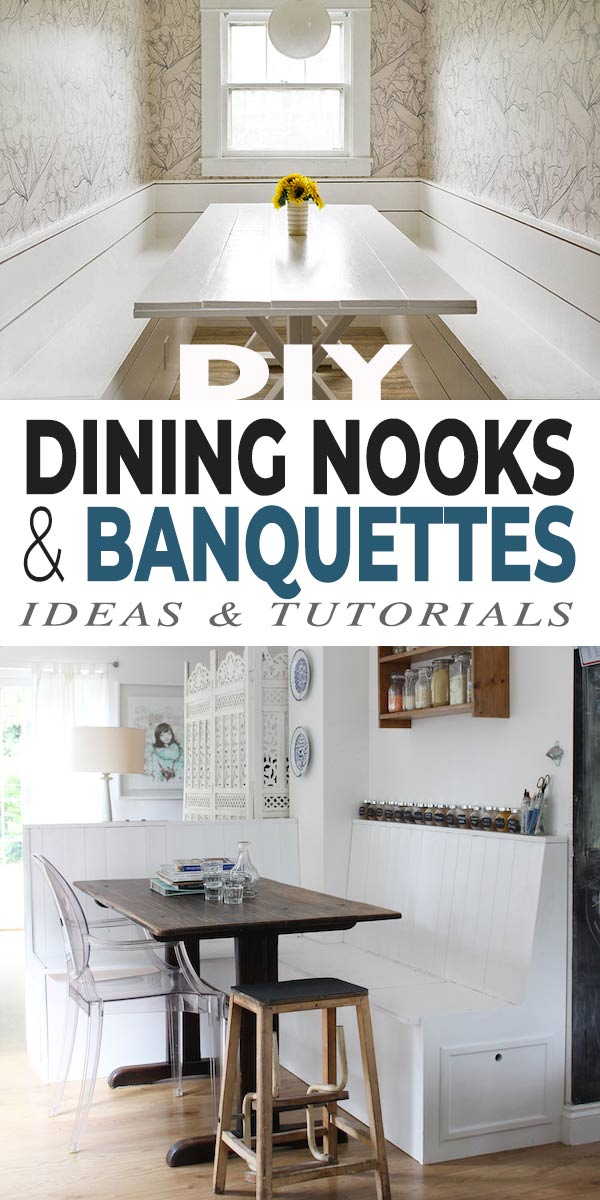 DIY Dining Nooks and Banquettes