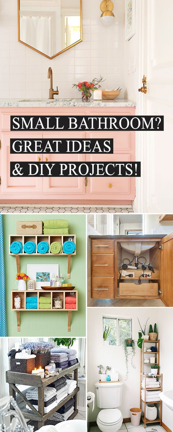 Small Bathroom Ideas Diy Projects Ohmeohmy Blog
