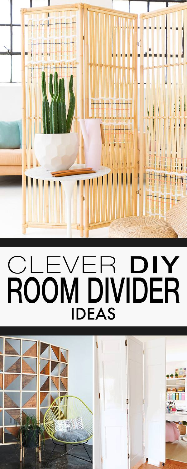 Clever DIY Room Divider Ideas