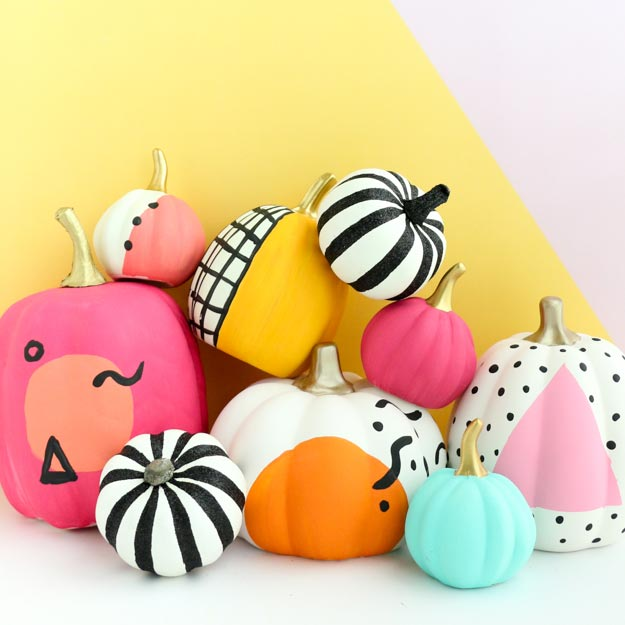 Amazing Instagram Worthy Painted Pumpkins