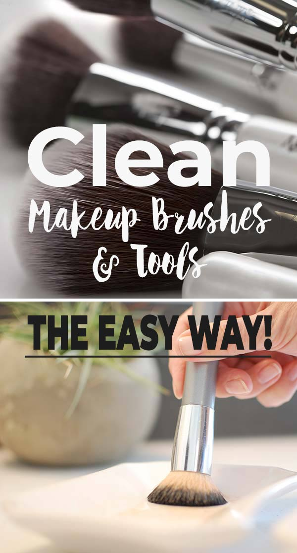 Beauty Basics : Cleaning Makeup Brushes & Tools The Easy Way!