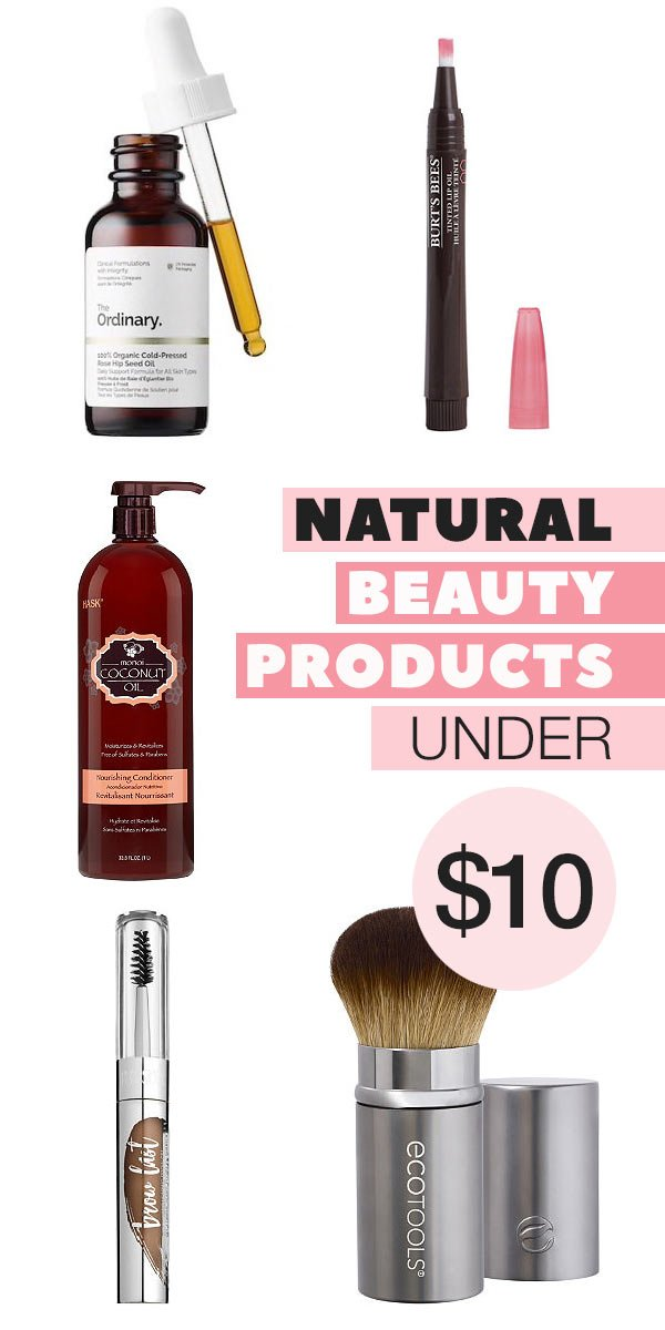 Natural Beauty Products Under $10 (We ACTUALLY Use!)