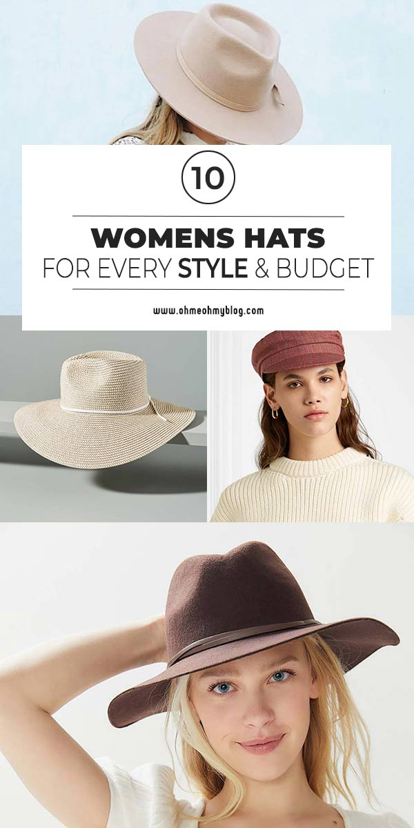 10 Womens Hats For Every Style & Budget