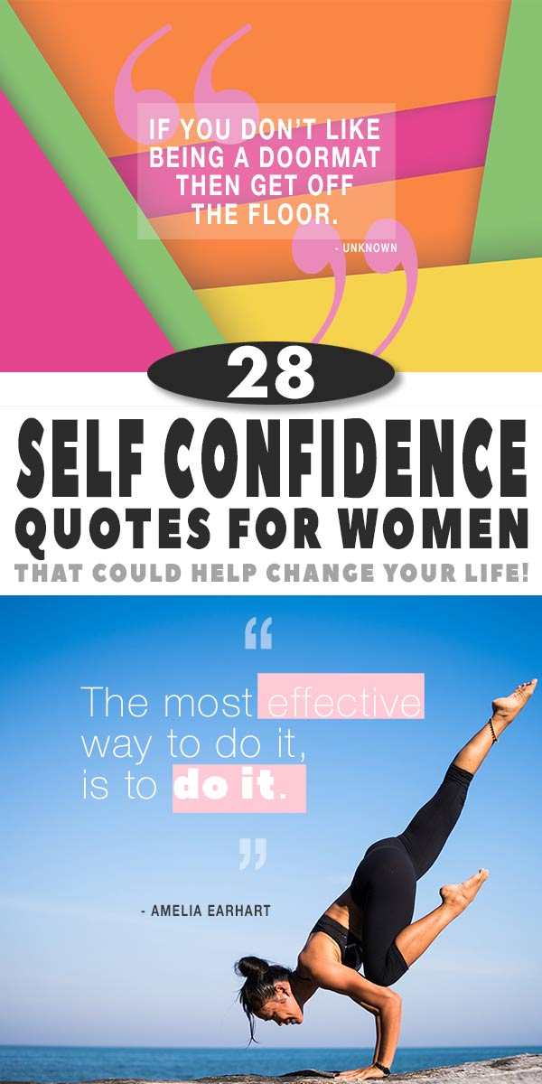 28 Self Confidence Quotes for Women, That Will Change Your Life