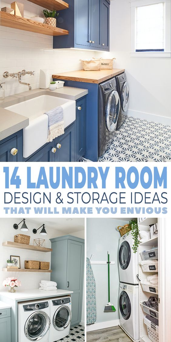 14 Laundry Room Design Ideas That Will