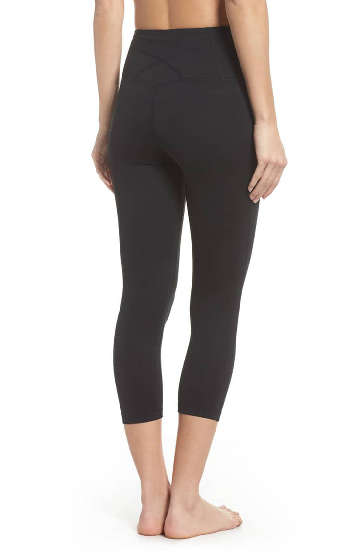 79b129f0de The Zella Live In High Waist Crop legging is a higher waist version, with  the same moisture wicking properties. If you prefer a crop style, the  reviews go ...