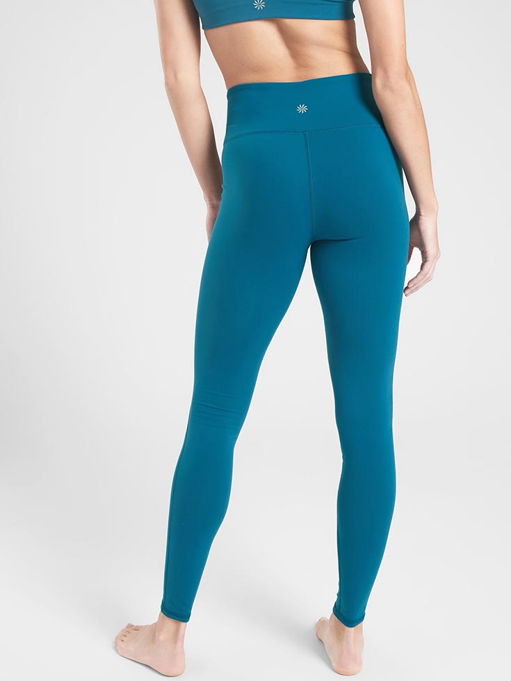 3a3db9538a This is another one that fits snug, which makes it perfect for yoga or  lounging! Shop It. GapFit High Rise 7/8 Leggings in Eclipse ...