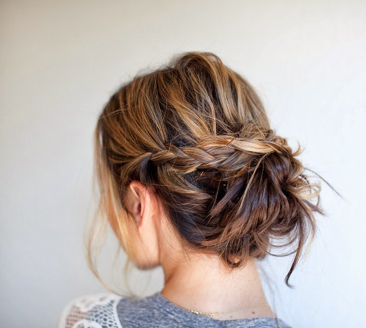 15 Easy Messy Bun Tutorials Quick Updo Hairstyles