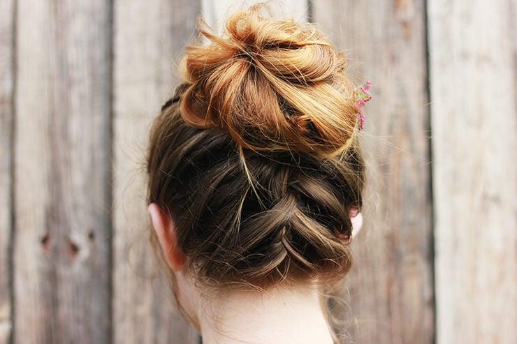 15 Easy Messy Bun Tutorials Quick Updo Hairstyles