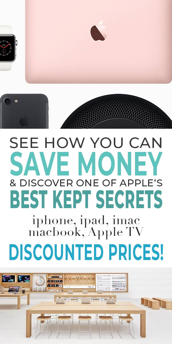 Save Money & Discover one of Apple's Best Kept Secrets - The Apple Certified Refurbished Store
