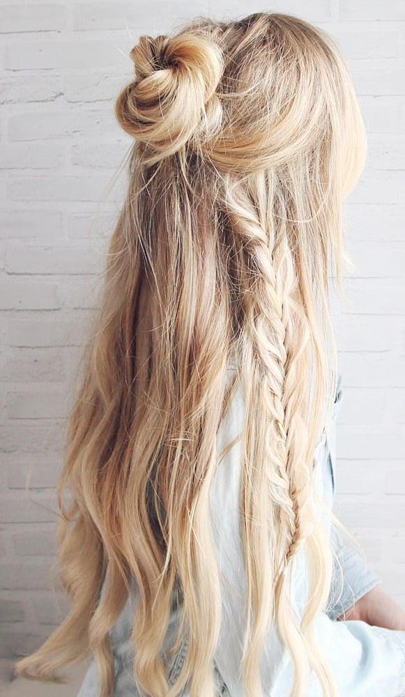 15 Easy Messy Bun Tutorials Amp Quick Updo Hairstyles