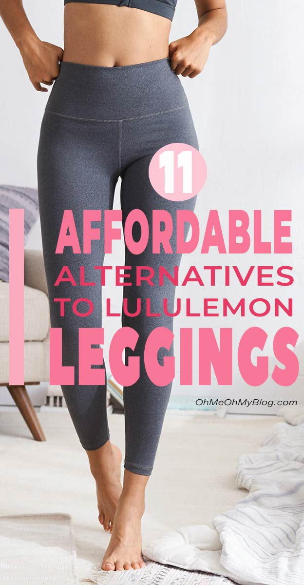 11 Affordable Alternatives To Lululemon Leggings