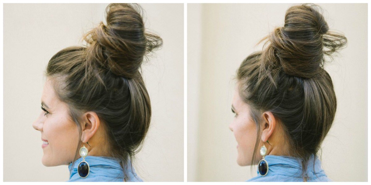 15 Easy Messy Bun Tutorials Amp Quick Updo Hairstyles