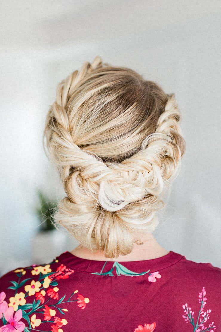 Pretty Summer Hairstyles for Long Hair : Easy Braided Updos