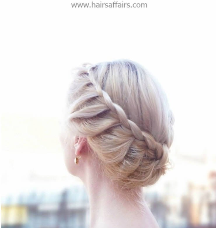 Pretty Summer Hairstyles for Long Hair : Easy Braided Updos ...