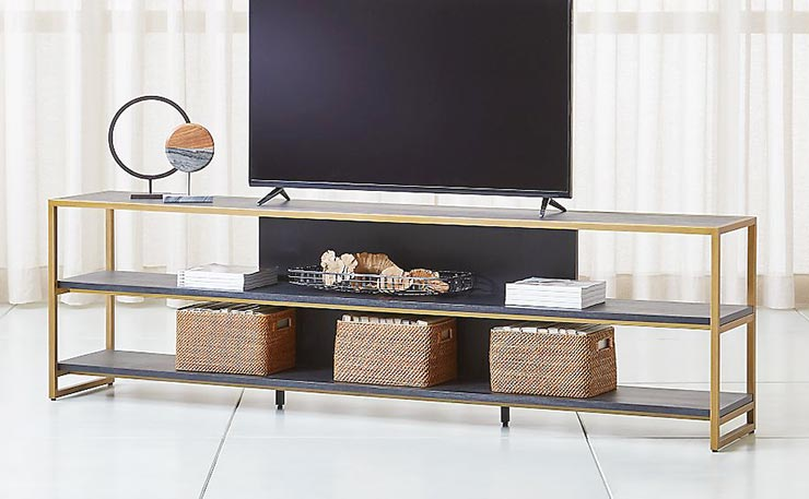 DIY TV Stand & Media Console Ideas | OhMeOhMy Blog