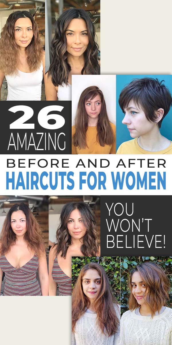 26 Amazing Before and After Haircuts for Women, You Won't Believe!