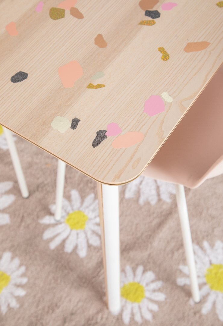 DIY Terrazzo Inspired Projects Anyone Can Do | OhMeOhMy Blog