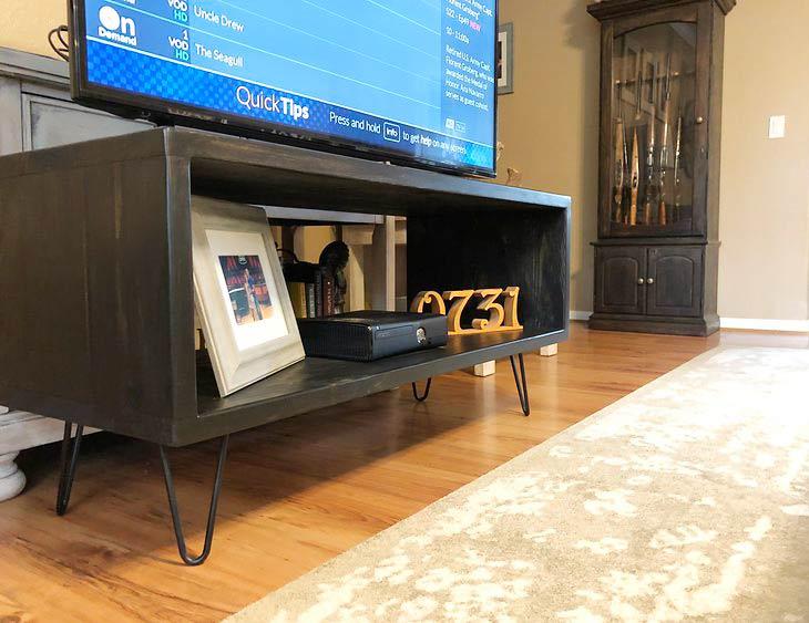 Diy Tv Stand Media Console Ideas Ohmeohmy Blog