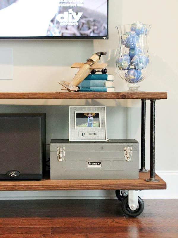 DIY TV Stand & Media Console Ideas