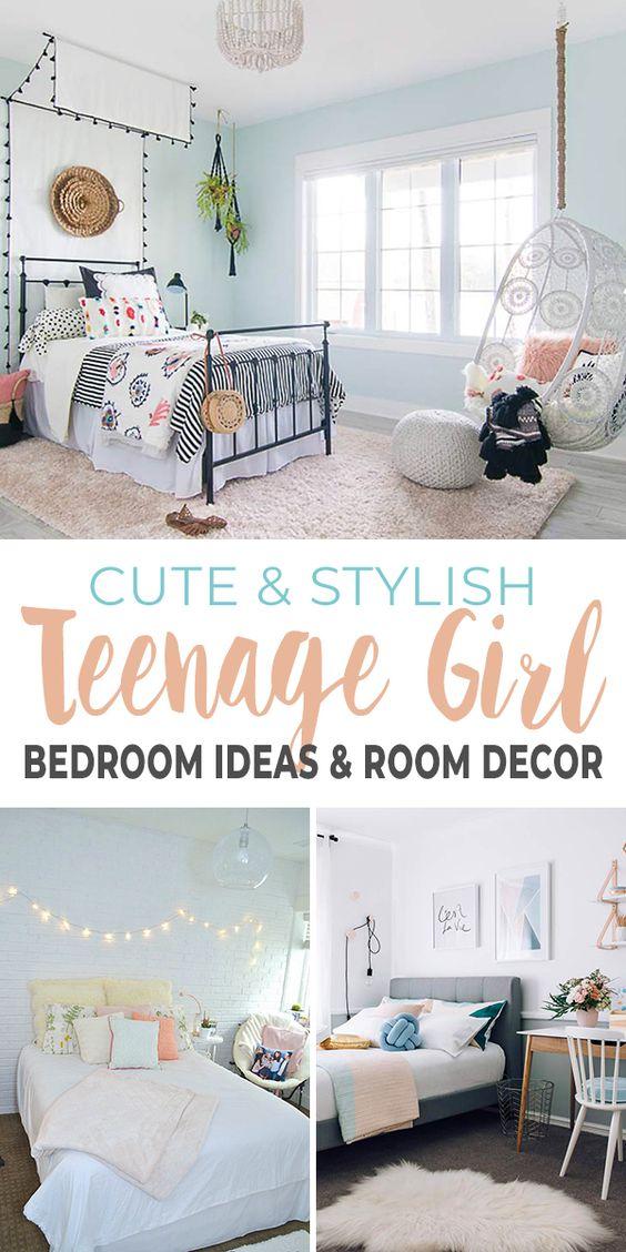 Cute Stylish Teenage Girl Bedroom Ideas Room Decor Ohmeohmy Blog