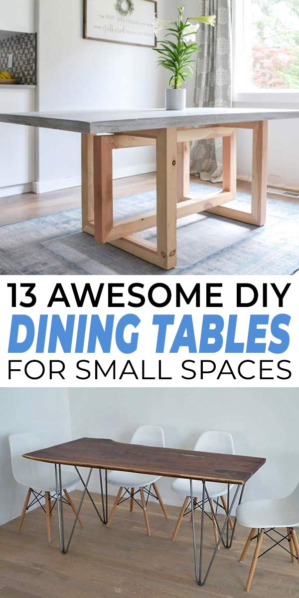 How To Build A Small Kitchen Table