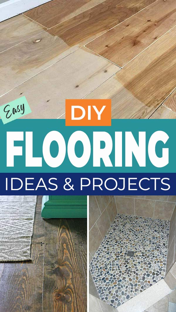Easy DIY Flooring Ideas and Projects