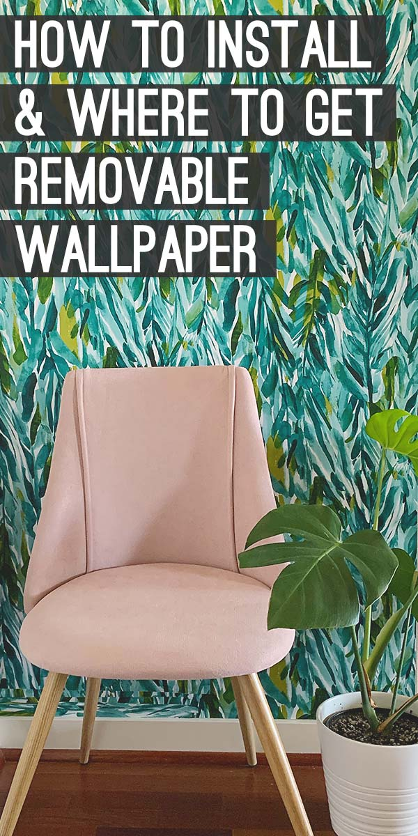 How to Install Peel & Stick Wallpaper for A Quick Style Boost