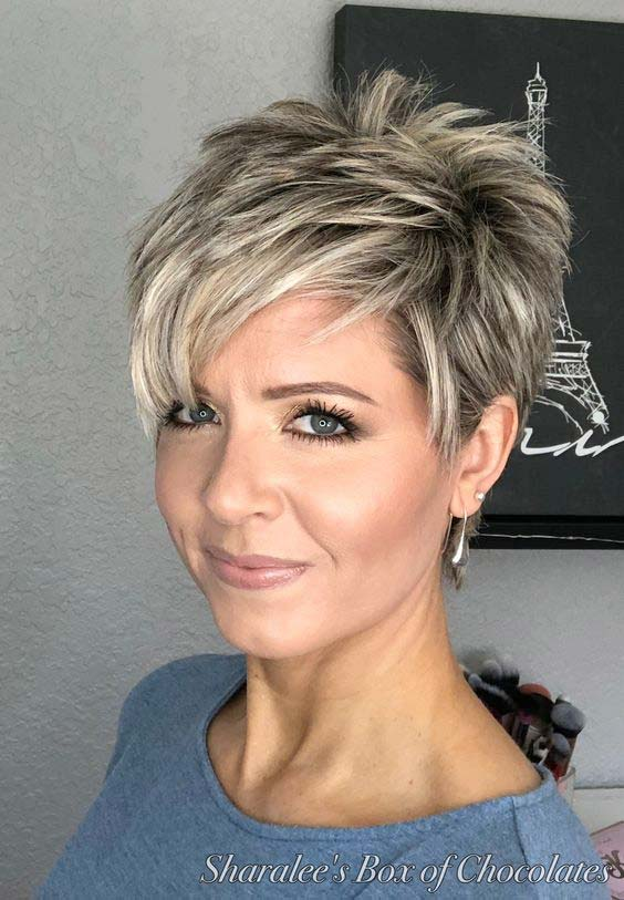 Super Cute Short Hairstyles For Women Over 50 Ohmeohmy Blog